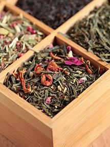 Lagerung von Tee