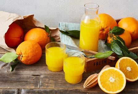 Wir lieben Orangen